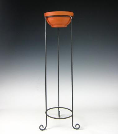 vlamschaal standaard, terracotta schaal, Cobbenhagen kaarsen