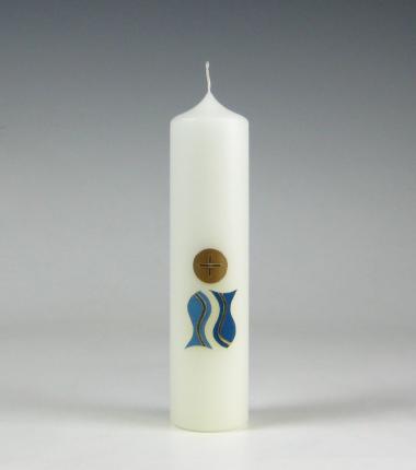 Communiekaarsje | Cobbenhagen kaarsen | visjes | hostie