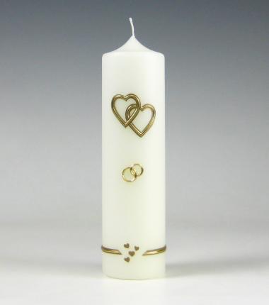 Trouwkaars | hart | Cobbenhagen kaarsen