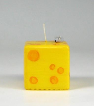 zon kaars, geel, sierkaars, Cobbenhagen kaarsen