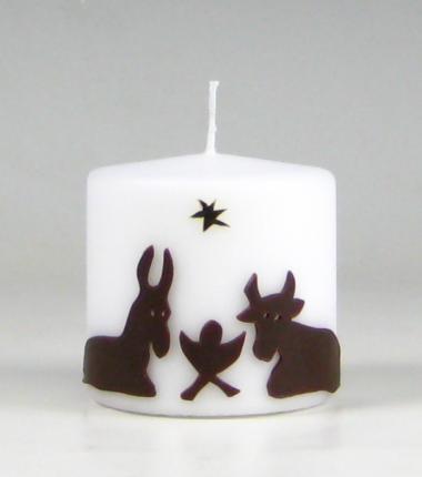 os en ezel kaars, kerstkaarsen, Kaarsenfabriek Cobbenhagen