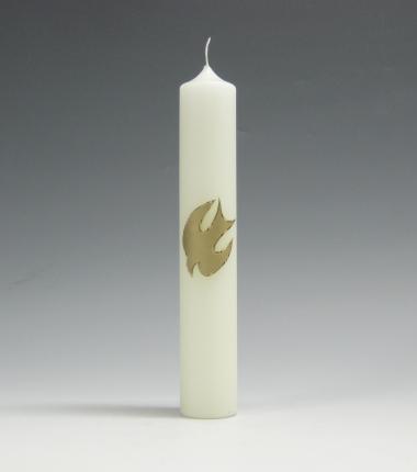 doopkaars, goud, H. Geest, Cobbenhagen kaarsen