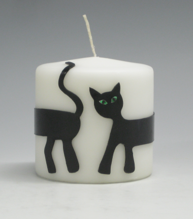 sierkaars, kat, Cobbenhagen kaarsen