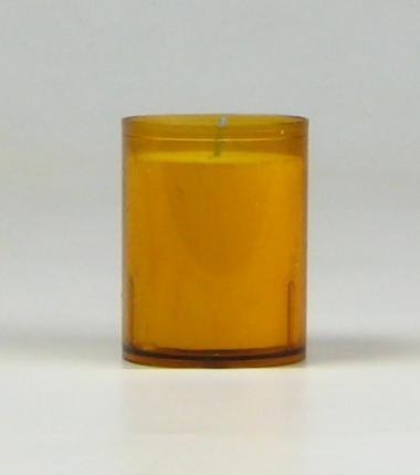 Theelicht 24 uur amber, waxinelichtje, Cobbenhagen kaarsen