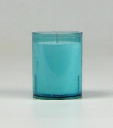 Theelicht 24 uur aqua, waxinelichtje, Cobbenhagen kaarsen