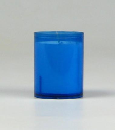 Theelicht 24 uur blauw, waxinelichtje, Cobbenhagen kaarsen