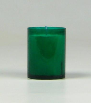 Theelicht 24 uur groen, waxinelichtje, Cobbenhagen kaarsen
