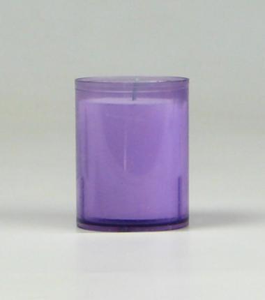 Theelicht 24 uur lila, waxinelichtje, Cobbenhagen kaarsen