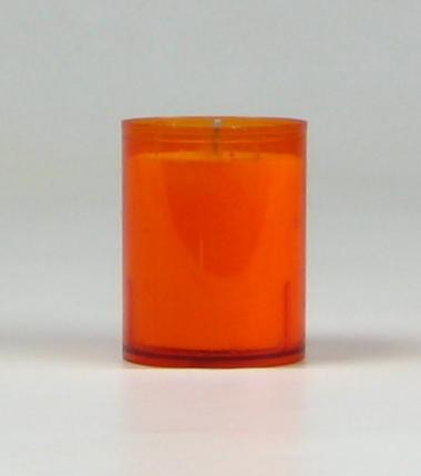 Theelicht 24 uur oranje, waxinelichtje, Cobbenhagen kaarsen