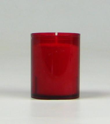 Theelicht 24 uur rood, waxinelichtje, Cobbenhagen kaarsen