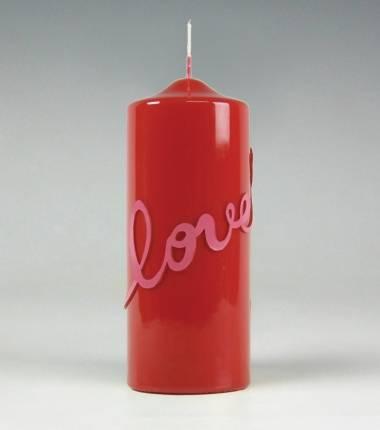 love I rood I kaars I valentijn I verliefd I liefde I kaarsenfabriek