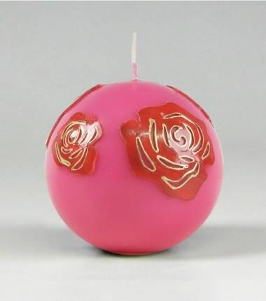 bol I roze en rood I kaars I roos I bloem I geliefde I kaarsenfabriek I cobbenhagen