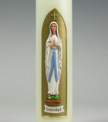 Lourdeskaars, Maria, Mariakaars, goud, Cobbenhagen kaarsen