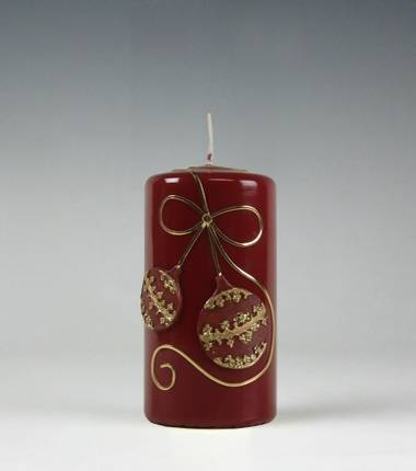 kerstbal I wijnrood I kerstmis I kaarsenfabriek cobbenhagen