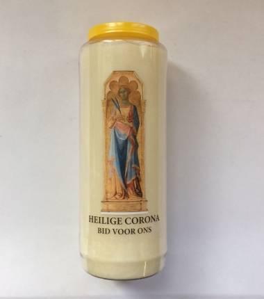 noveenkaars heilige corona