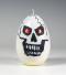 halloween kaarsen, schedel kaars, doodshoofd kaars, gothic kaars, Cobbenhagen kaarsen