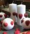 Aardbeienkaars | Cobbenhagen kaarsen | sierkaarsen