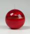 kerstkaars|luxe|hoogglans|rood|Cobbenhagen k