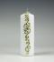 kerstkaars, wit, ornament,stompkaars, Cobbenhagen kaarsen