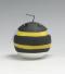 hommel, sierkaars, cadeaukaars, zwart, geel, Cobbenhagen kaarsen
