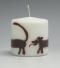 sierkaars, tekkel, Cobbenhagen kaarsen