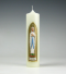 Lourdes, Maria, Mariakaars, goud, Cobbenhagen kaarsen