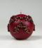 kerstkaars, klassieke versiering, bordeaux, Cobbenhagen kaarsen