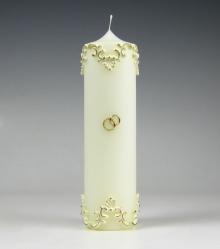 Trouwkaars, klassiek ornament, Cobbenhagen kaarsen