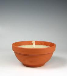 Vlamschaal | vuurpot | Terracotta schaal | Cobbenhagen kaarsen