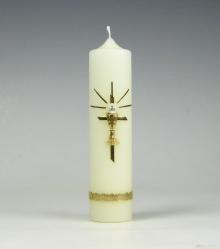 Communiekaars | hostie | Cobbenhagen kaarsen