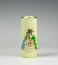 H. Fam kerstkaars | religieuze kerstkaars | Cobbenhagen kaarsen
